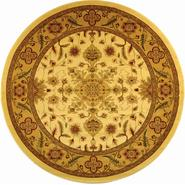 Safavieh Lyndhurst  8' X 8' Round Area Rug in  Ivory/ Tan at Kmart.com