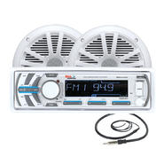 "Boss Audio Marine Audio System with 240-Watt AM/FM/CD Receiver and Two 6 1/2"" Dual Cone Speakers at Sears.com"