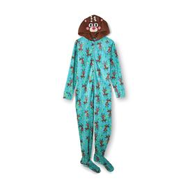 Joe Boxer Women's Christmas Footie Pajamas - Reindeer at Kmart.com