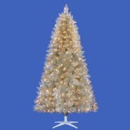 6.5' 300 Clear Light Champagne Christmas Tree at Kmart.com