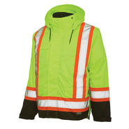 Work King Safety Hi vis lined jacket at Sears.com