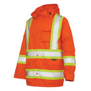 Work King Safety Hi vis rain jacket at Craftsman.com