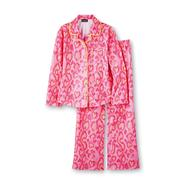 Joe Boxer Girl's Flannel Pajamas - Snakeskin Hearts at Kmart.com