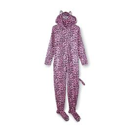 Joe Boxer Women's Footie Pajamas - Leopard at Kmart.com