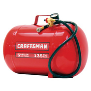 Craftsman 5 Gallon 135 PSI Horizontal Air Tank at Sears.com