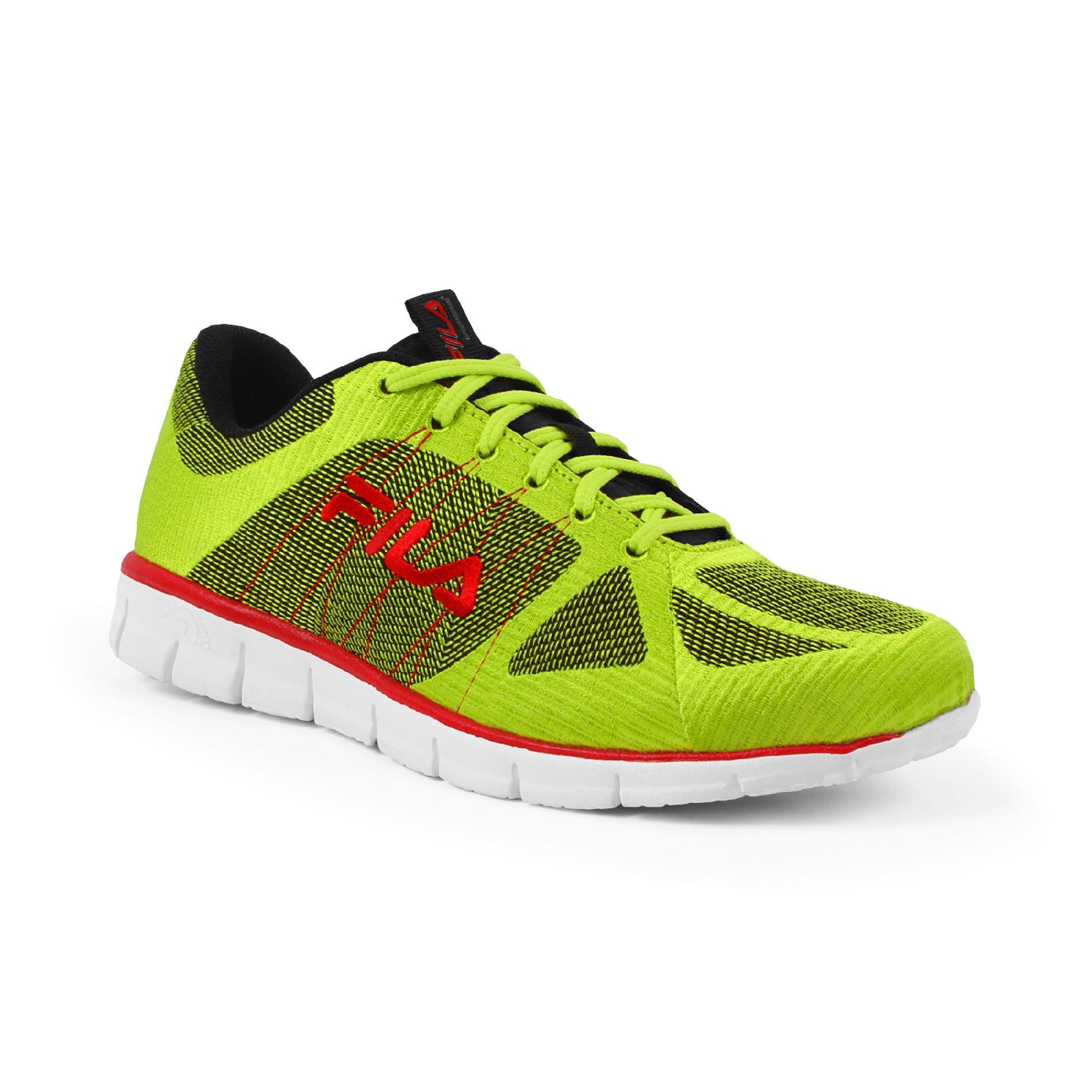 Fila Men's Running Shoe Speedweave - Green