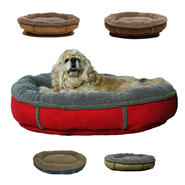 Carolina Pet Company Large Faux Suede & Tipped Berber Round Comfy Cup at Kmart.com