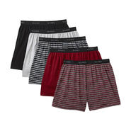 Hanes Men's Knit Boxer Shorts - 5 Pack at Sears.com