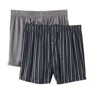 Covington 2-Pack Men's Knit Boxers - Striped at Sears.com