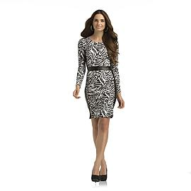 Kardashian Kollection Women's Dress - Tiger Striped at Sears.com