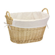 Household Essentials Willow Laundry Basket w/lining & handles/Natural at Kmart.com