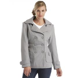 Louise Paris Women's Hooded Peacoat at Sears.com