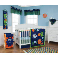 Trend Lab Snuggle Monster - 3 Piece Crib Bedding Set at Kmart.com