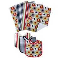 Trend Lab Bouquet Set - Elephant Parade - Bib & Burp Cloth at Kmart.com