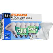 Sylvania Incandescent Frosted Reflector Flood  Lamp BR30-Medium Base 120V Light Bulb 65W - 6 Pack at Kmart.com