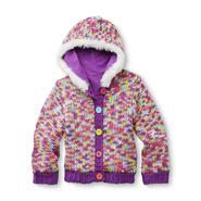 WonderKids Infant & Toddler Girl's Hooded Cardigan Sweater - Rainbow at Kmart.com