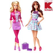 Barbie I Can Be Make Up Artist 2 Pack Dolls.  Kmart Exclusive. at Sears.com