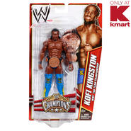 WWE KMART EXCLUSIVE CHAMPIONS FIGURE KOFI KINGSTON WITH TAG TEAM at Kmart.com