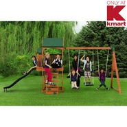 Sportspower New Timber Play II With Balcony Swing Set at Sears.com
