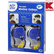 Just Kidz Portable Walkie Talkies at Kmart.com