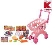 Just Kidz Shopping Cart Playset - Pink at Kmart.com