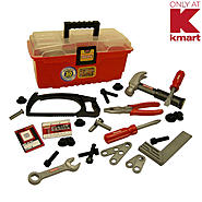 My First Craftsman 30 pcs Tool Box Set at Kmart.com