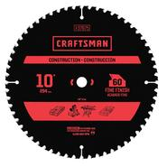 "Craftsman 10"" 60T Carbide Blade at Craftsman.com"