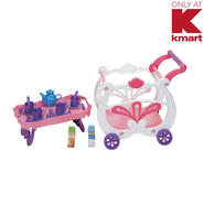 Just Kidz 2 In 1 Tea Cart Playset at Kmart.com