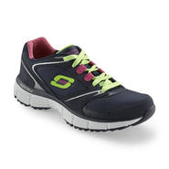 Skechers Women's Agility Rewind Blue/Neon Low-Top Training Shoes at Sears.com