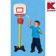Just Kidz Junior Basketball Playset at Kmart.com