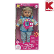 "Just Kidz Nursery Rhyme Doll - Tammy Sings ""Twinkle Twinkle Little Star"" at Kmart.com"