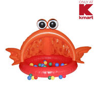 "Just Kidz 30"" Inflatable Big Mouth Fish at Kmart.com"
