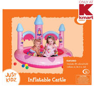 "Just Kidz 36.5"" Inflatable Castle Ball Pit at Sears.com"