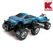 Just Kidz Remote Control Ford F-150 With Jet Ski 1:22 Scale at Sears.com