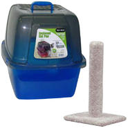 "Enclosed ""Jumbo"" Cat Litter Box & Scratching Post Bundle at Kmart.com"