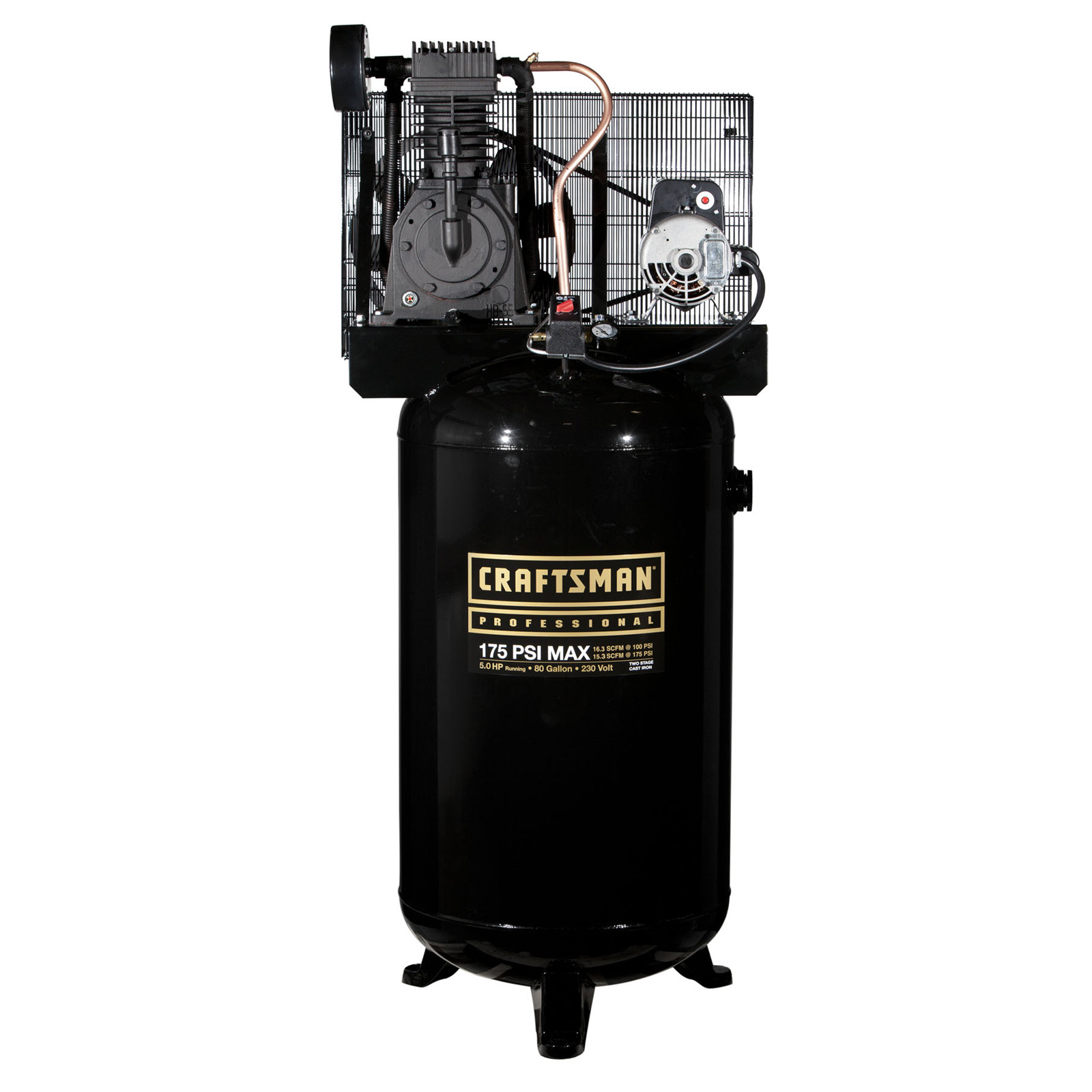 80 Gallon 2 Stage Air Compressor