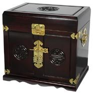 Oriental Furniture Rosewood Jewelry Cabinet with 5 Drawers - Dark Rosewood at Sears.com