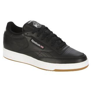 Reebok Men's Lifestyle Club-C Black Gum Shoe