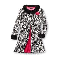 Holiday Editions Girl's Coat Dress Set - Zebra Print at Kmart.com