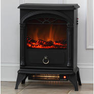 "Fire Sense 21.67""H x 10.01""W x 16.35""D Vernon Electric Fireplace Stove at Kmart.com"