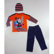 Thomas & Friends Thomas the Tank Engine Toddler Boy's T-Shirt, Pants & Beanie at Sears.com