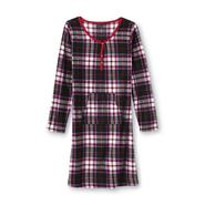 Covington Women's Microfleece Sleep Shirt - Plaid at Sears.com