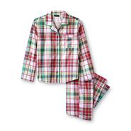Joe Boxer Girl's Flannel Pajamas - Plaid at Kmart.com