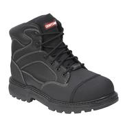 Craftsman Men's Theo Steel Toe Leather Boot Wide Width - Black at Kmart.com