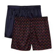 Covington Men's Satin Boxer Shorts - 2 Pack at Sears.com