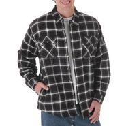 Wrangler Men's Denim Shirt Jacket- Plaid at Kmart.com
