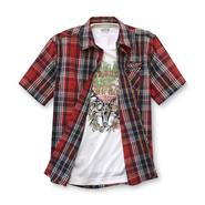 Route 66 Boy's Layered Woven Shirt Set - Wild Bucks at Kmart.com