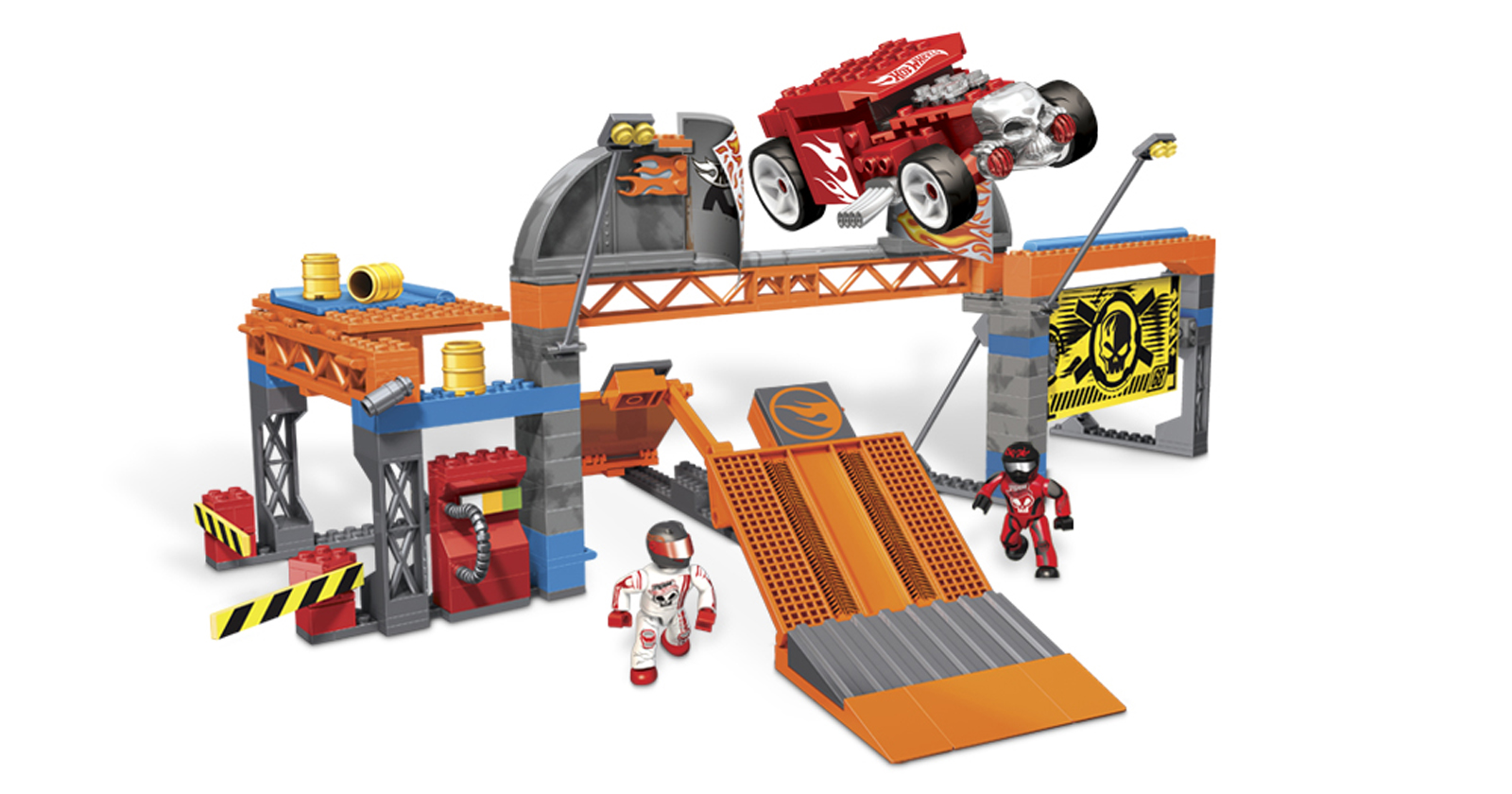Hot Wheels™ Super Stunt Test Facility