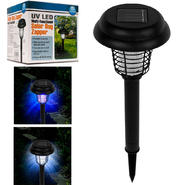 Pure Garden Solar Bug Zapper LED and UV Light - Set of 3 at Kmart.com