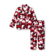 Joe Boxer Toddler Girl's Flannel Pajamas - Scottish Terriers at Kmart.com